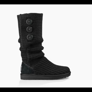 Ugg Classic CARDY cable knit boot 7